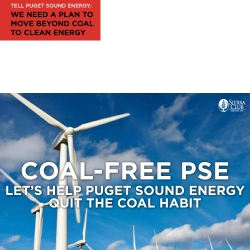 Coal-Free PSE: Let's help Puget Sound Energy Quit the Coal Habit