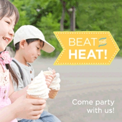 Beat the Heat! Come Party with Us. Celebrate Summer...