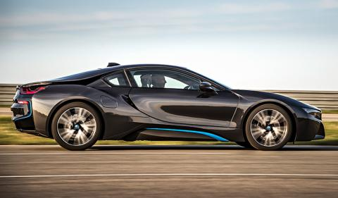 BMW Reveals Production Version Of Exotic I8 Plug In Hybrid