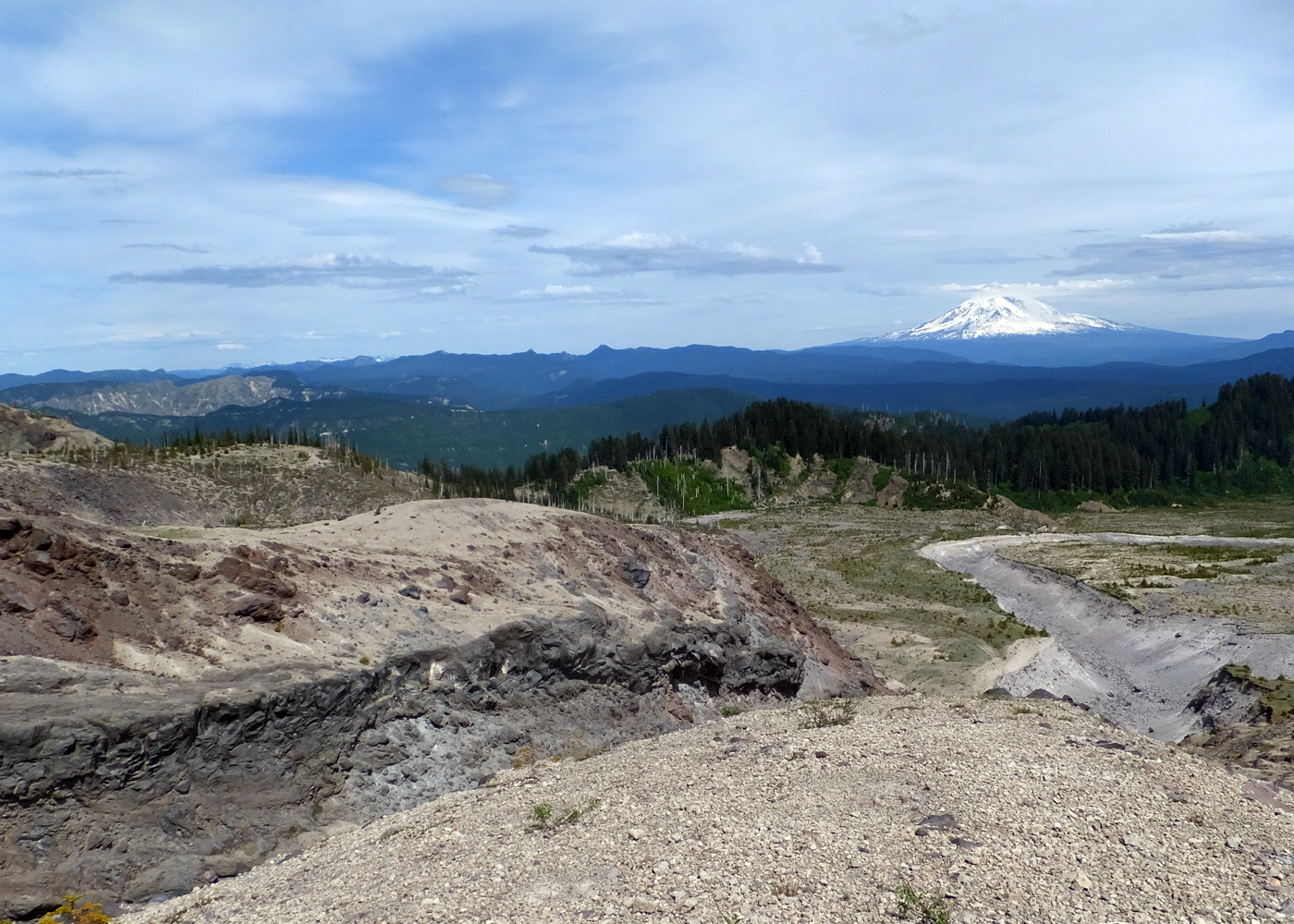 Mt st helens carbon dating