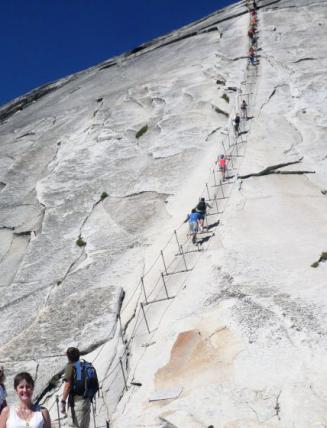 Yosemite Highlights: Half Dome and Cloud's Rest, California