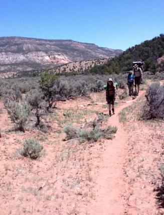 The Continental Divide Trail, New Mexico