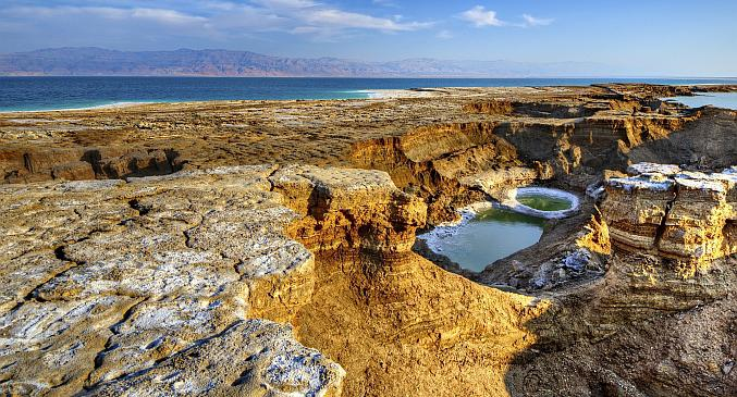 Sinkholes and the Dead Sea, Israel