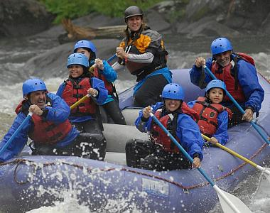 Rafting the Hudson Gorge in New York's Adirondacks