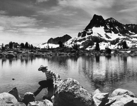 Basecamp below Banner Peak, Ansel Adams Wilderness, California, 1965 by Andrew D. Crofut, Jr.