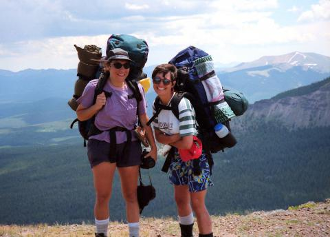 Colorado backpacking, mid-1990s by Roger Grissette