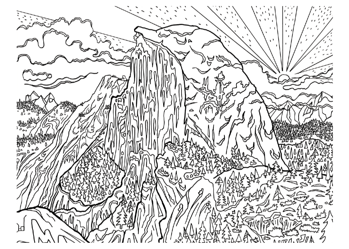 Color The Great Outdoors Sierra Club Outings