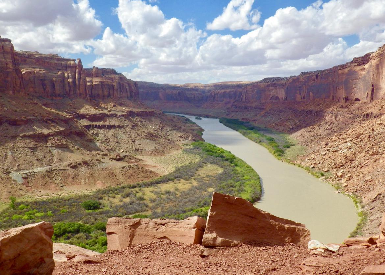 Indian Creek Utah Map.Canoe Hike Labyrinth Canyon Utah Sierra Club Outings