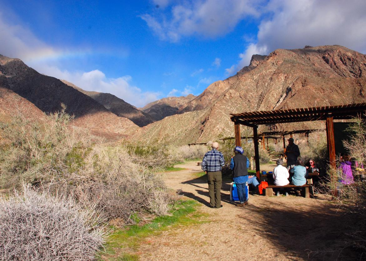 Song And Service In Anza Borrego Desert State Park, California