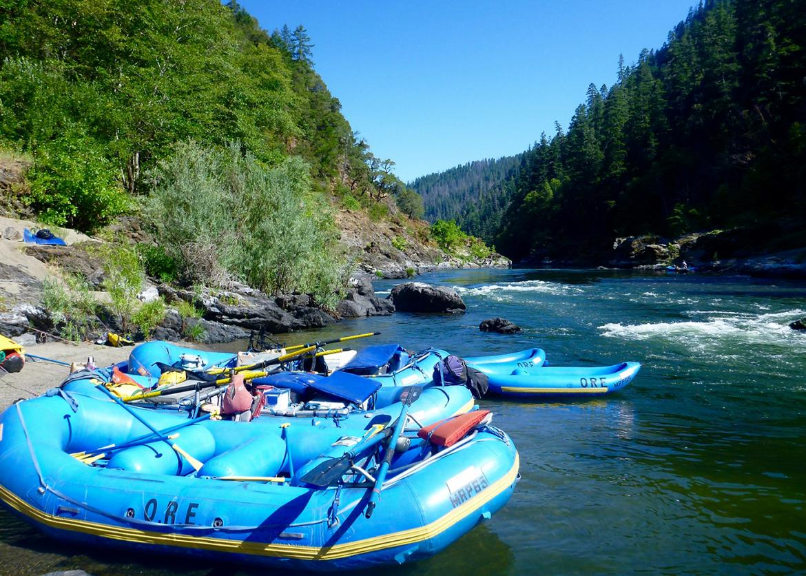 Women's Rafting on the Rogue River, Oregon