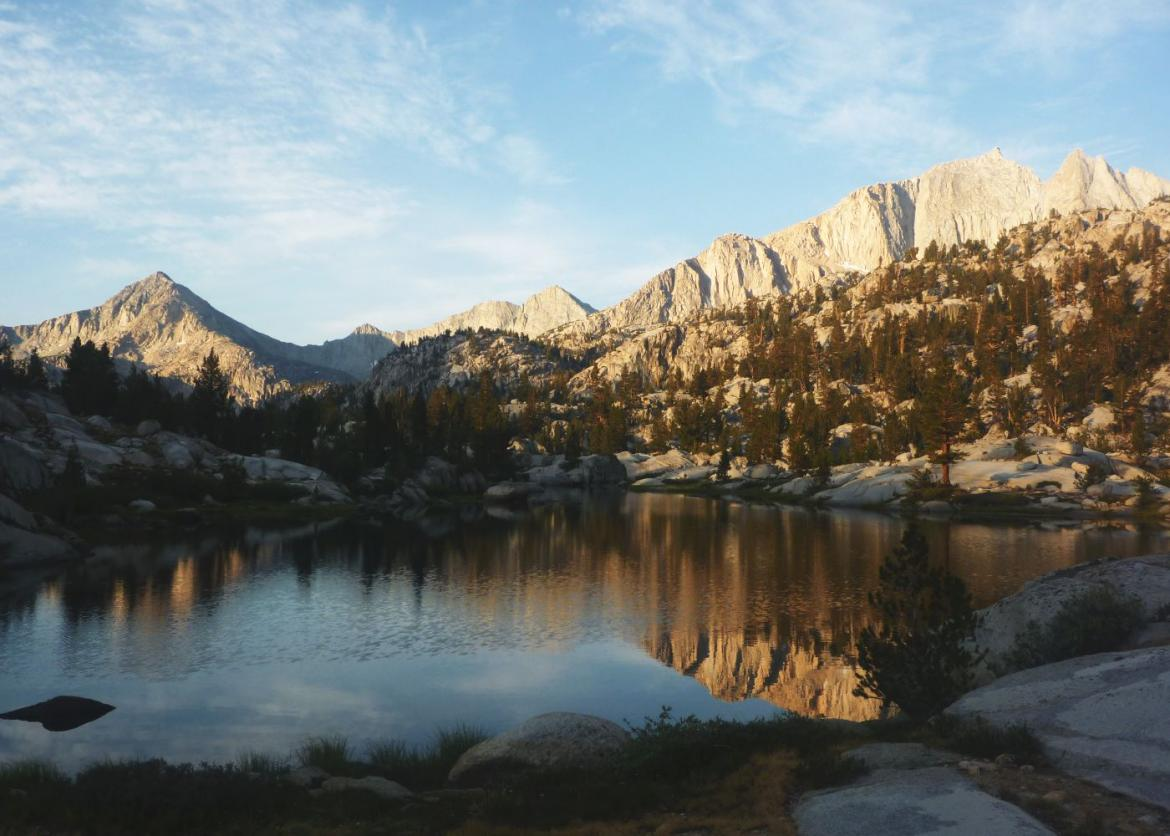 sixty lakes and more in kings canyon national park