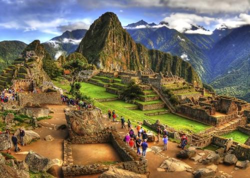 Inca ruins of Machu Picchu, Peru