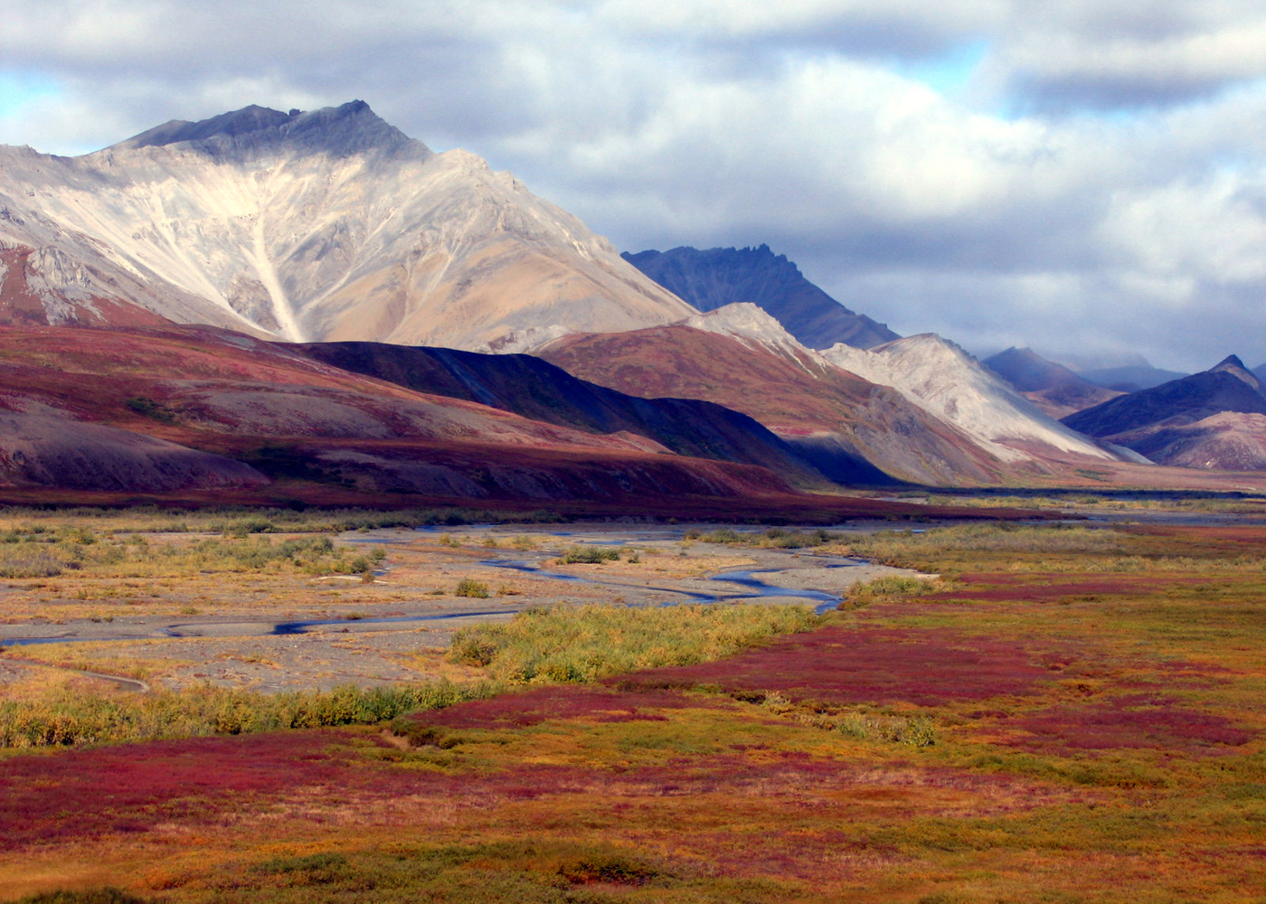 Arctic wilderness fishing base camp in the brooks range for Alaska fishing camps