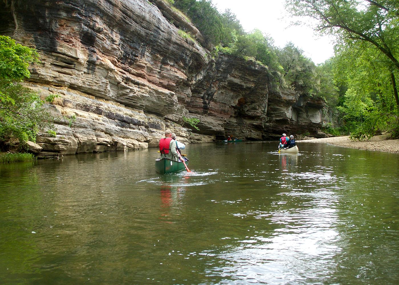 Fall Color Float On The Scenic Buffalo River Arkansas