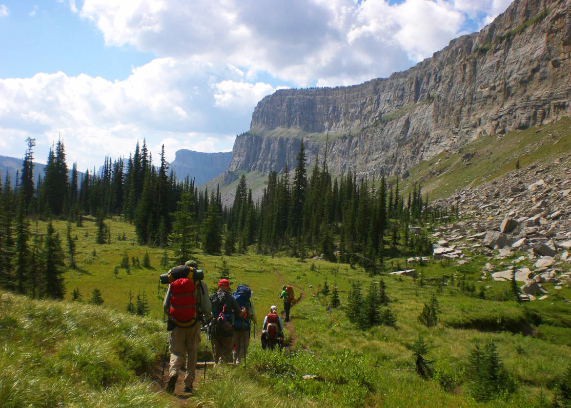 Backpack The Bob Marshall Wilderness Sierra Club Outings
