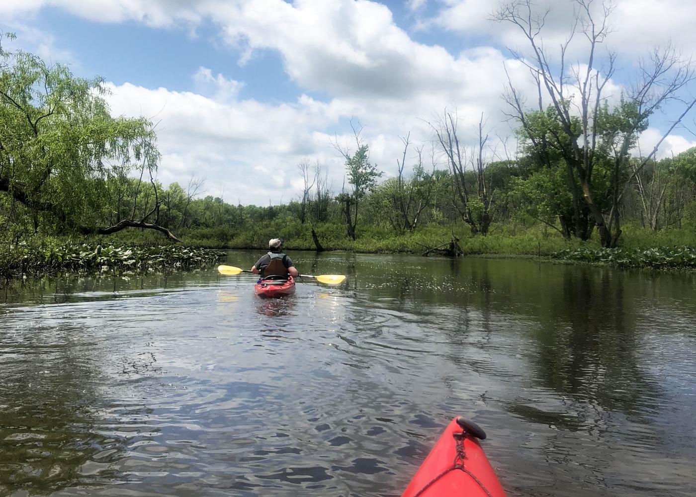Kayaking And Hiking Cuyahoga Valley National Park Ohio