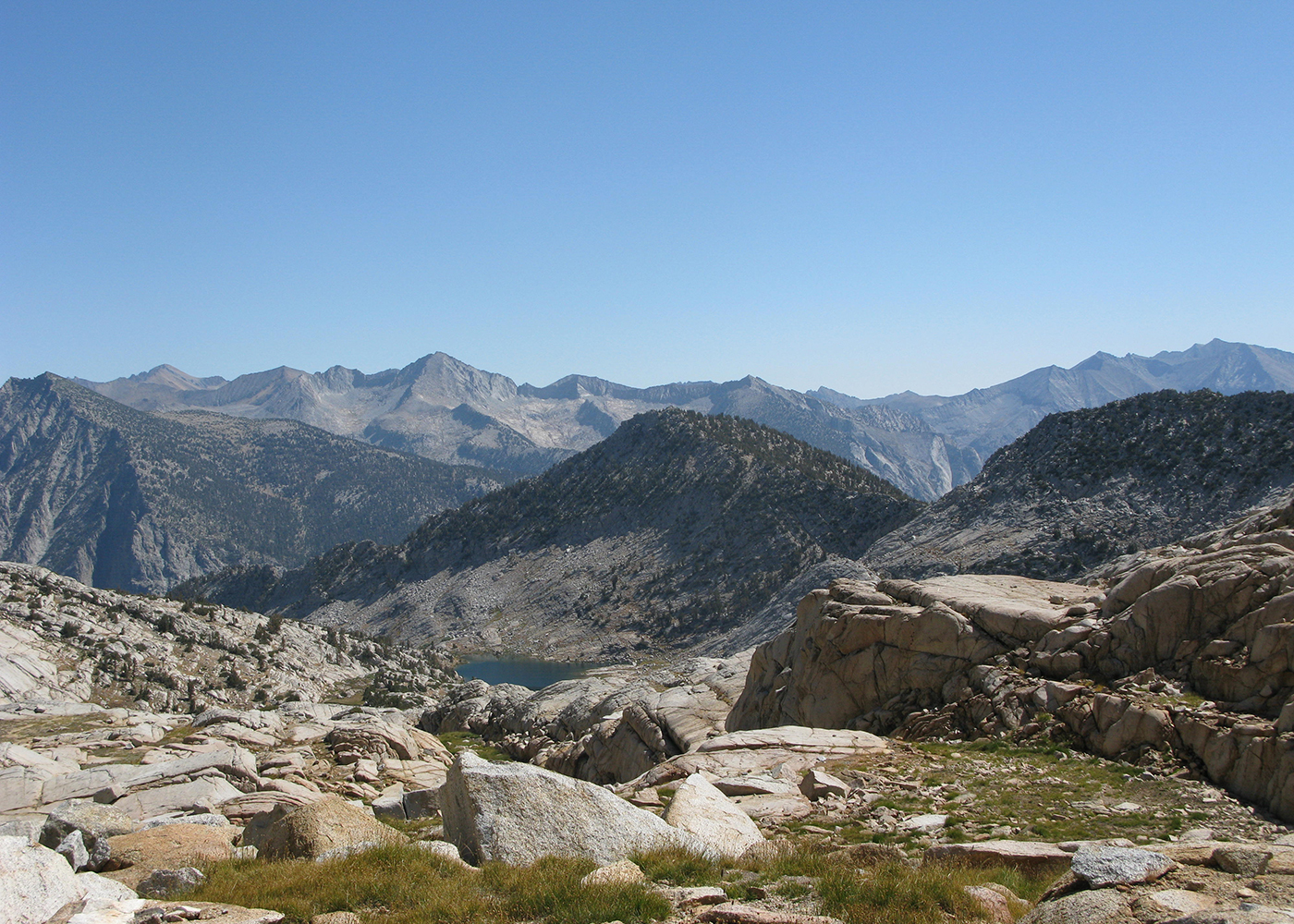 Treasures Of The Monarch Divide Kings Canyon National