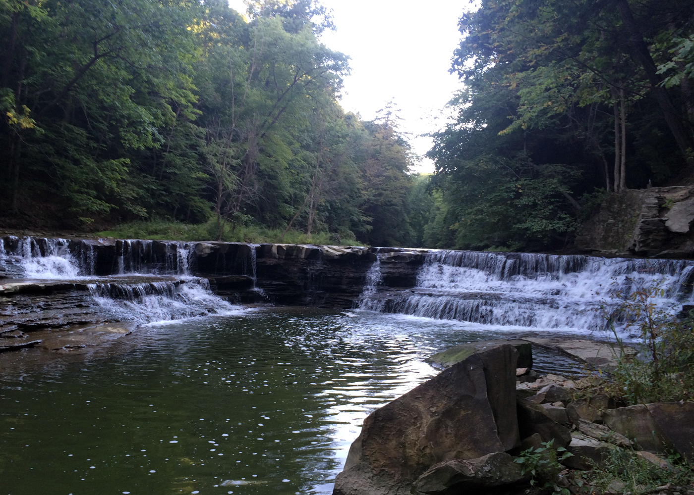 Waterfalls In The Fall Kayaking And Hiking The South