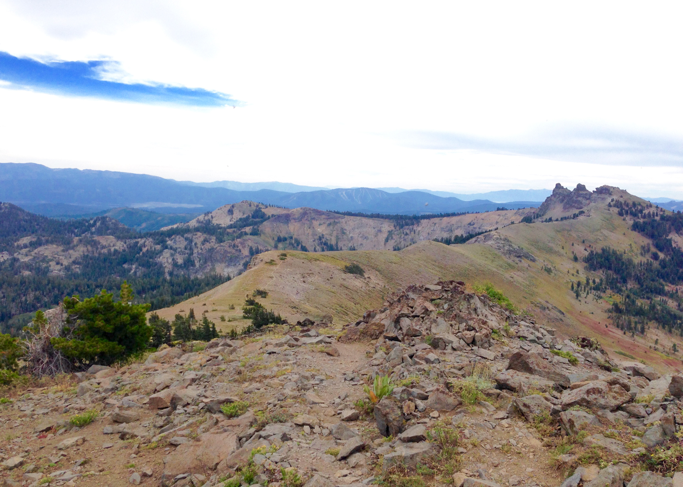 Autumn Hiking and History in the Sierra Nevada, Tahoe National ...