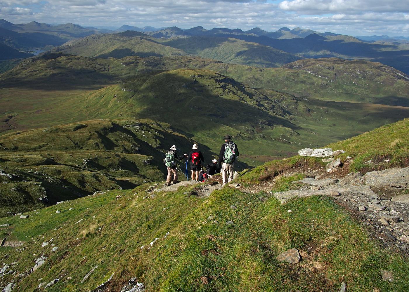 Hike Scotland West Highland Sierra Club Outings