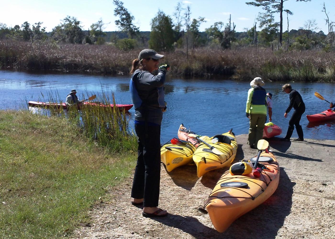 Kayaking Coastal Carolina - Sierra Club Outings