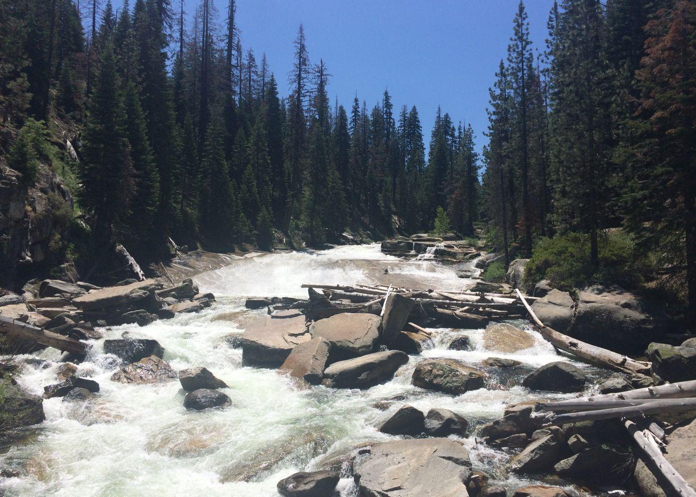 Southern Yosemite Wilderness Medley California