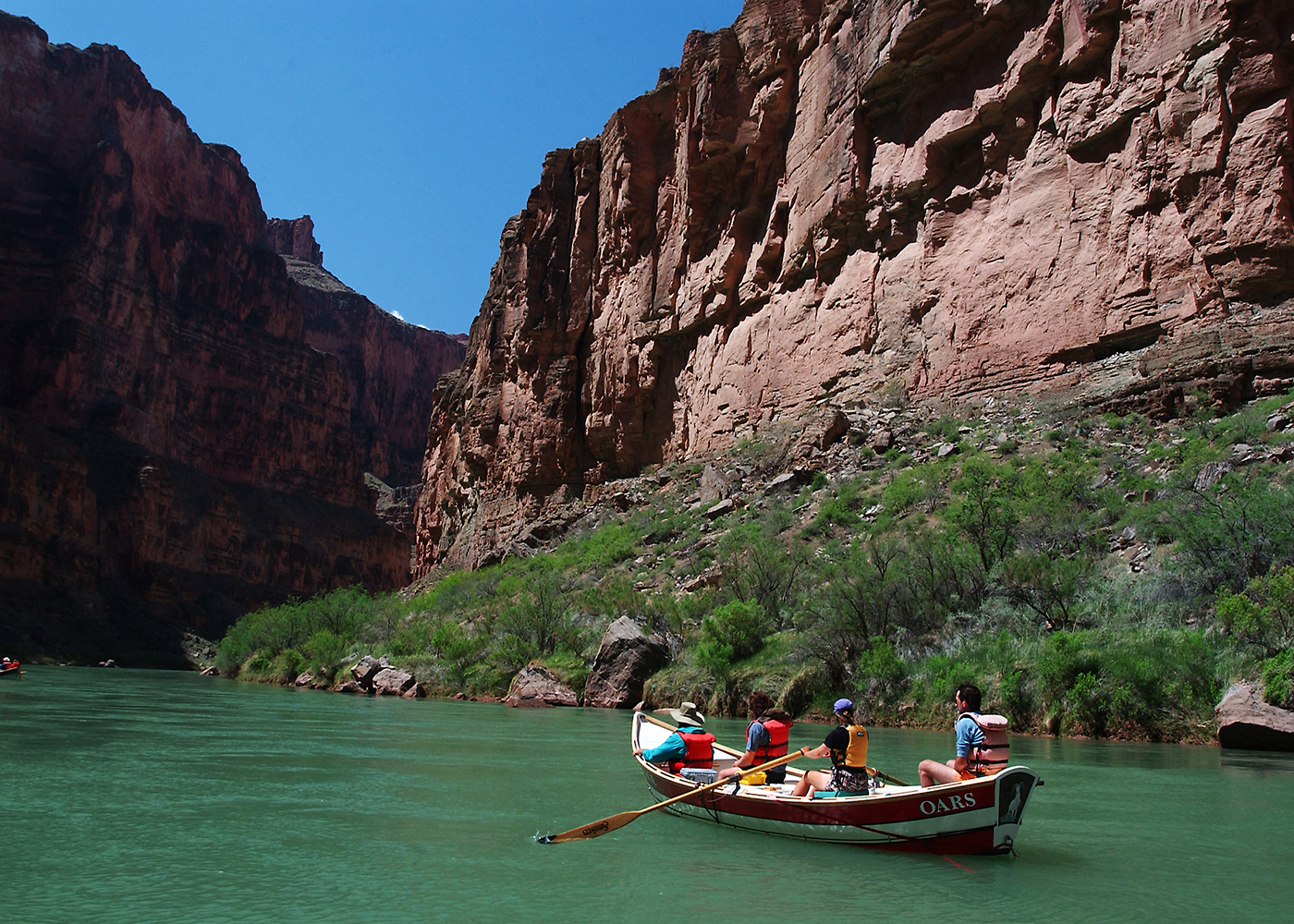 Autumn Rafting On The Colorado River Grand Canyon