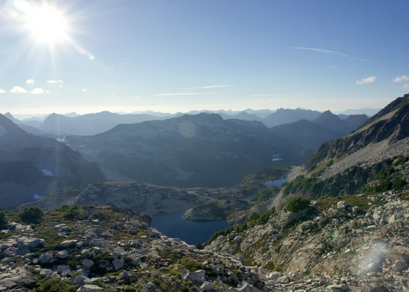 Backpack Alpine Lakes Wilderness Pacific Crest Trail